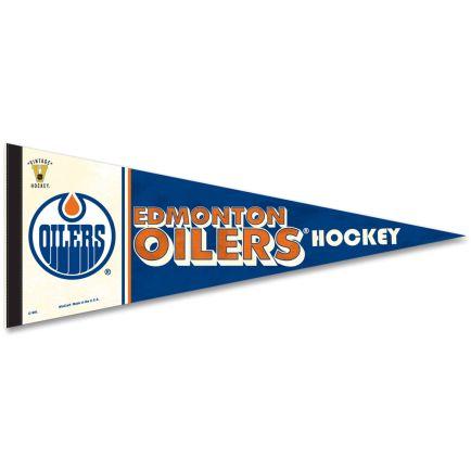 """Edmonton Oilers / Vintage NHL Premium Pennant 12"""" x 30"""""""