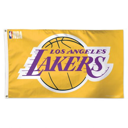 Los Angeles Lakers DESIGN TWO Flag - Deluxe 3' X 5'