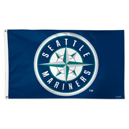 Seattle Mariners Flag - Deluxe 3' X 5'