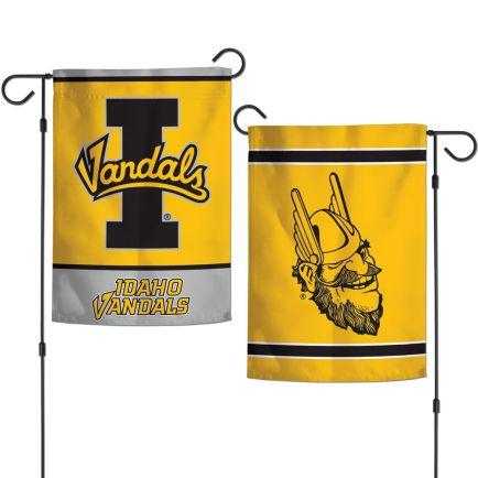 "Idaho Vandals Garden Flags 2 sided 12.5"" x 18"""