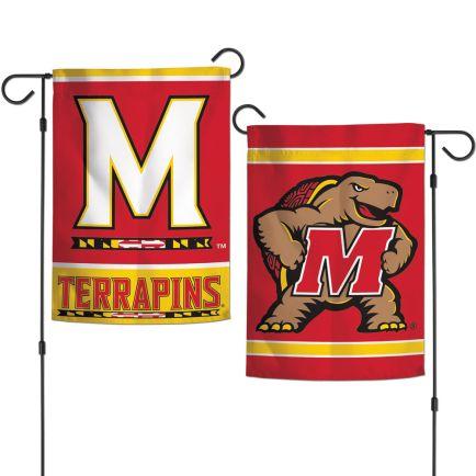 "Maryland Terrapins Garden Flags 2 sided 12.5"" x 18"""