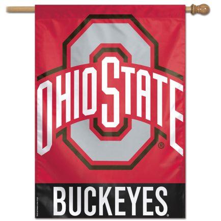 "Ohio State Buckeyes Vertical Flag 28"" x 40"""