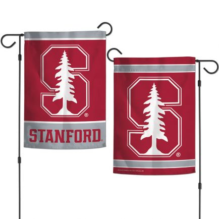 """Stanford Cardinal Garden Flags 2 sided 12.5"""" x 18"""""""
