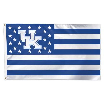 Kentucky Wildcats / Stars and Stripes NCAA Flag - Deluxe 3' X 5'