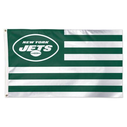 New York Jets / Patriotic Americana Flag - Deluxe 3' X 5'