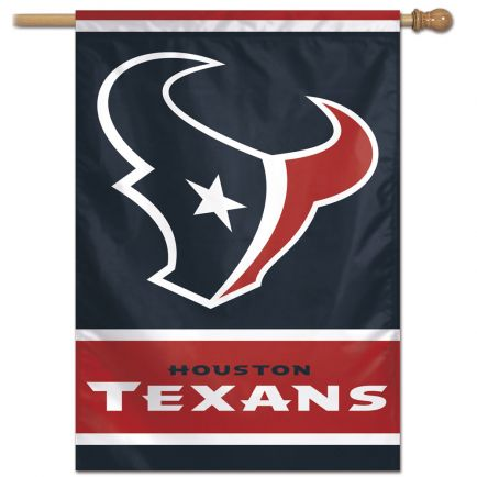 "Houston Texans Vertical Flag 28"" x 40"""