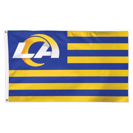 Los Angeles Rams Americana Flag - Deluxe 3' X 5'