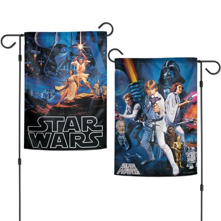 """Original Trilogy / Original Trilogy MULTI CHARACTER EP 4-6 Garden Flags 2 sided 12.5"""" x 18"""" Poster Collage"""