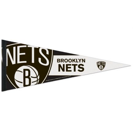 "Brooklyn Nets Premium Pennant 12"" x 30"""