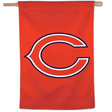 """Chicago Bears Logo Vertical Flag 28"""" x 40"""""""