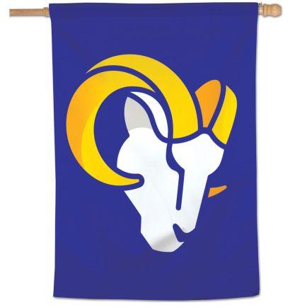 "Los Angeles Rams Secondary Logo Vertical Flag 28"" x 40"""