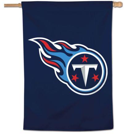 "Tennessee Titans Logo Vertical Flag 28"" x 40"""