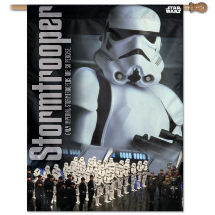 "Original Trilogy / Original Trilogy Vertical Flag 28"" x 40"" Storm Troopers"