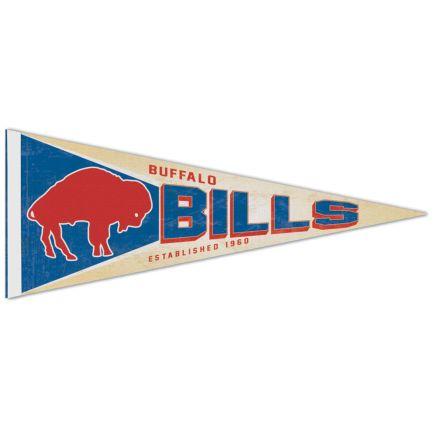 """Buffalo Bills / Classic Logo RETRO Premium Pennant 12"""" x 30"""""""