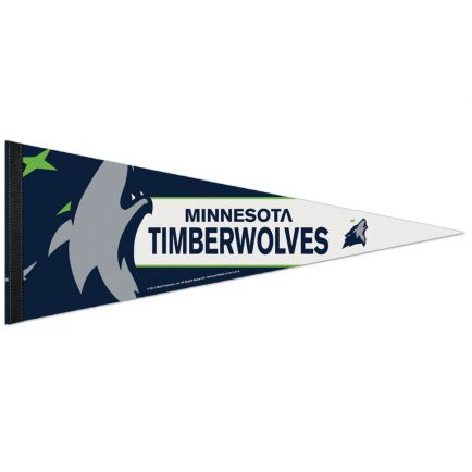 "Minnesota Timberwolves Premium Pennant 12"" x 30"""