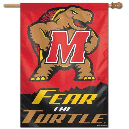 "Maryland Terrapins Vertical Flag 28"" x 40"""