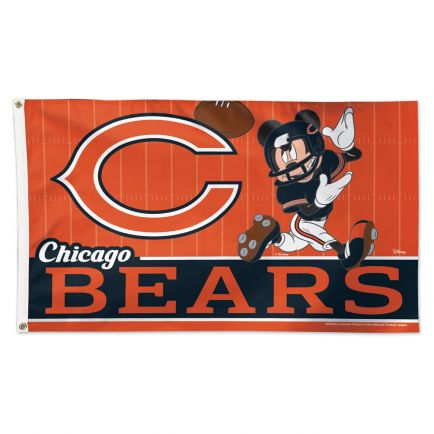Chicago Bears / Disney Mickey Mouse Flag - Deluxe 3' X 5'