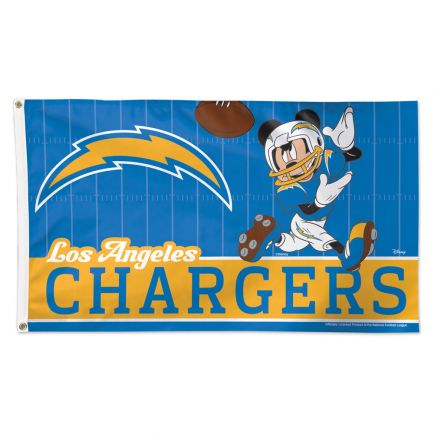 Los Angeles Chargers / Disney Flag - Deluxe 3' X 5'