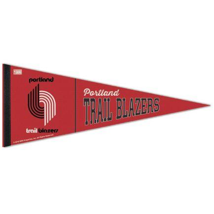 "Portland Trail Blazers / Hardwoods HARDWOOD CLASSIC Premium Pennant 12"" x 30"""
