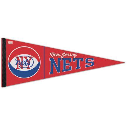 "Brooklyn Nets / Hardwoods HARDWOOD CLASSIC Premium Pennant 12"" x 30"""