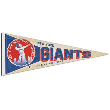 "New York Giants / Classic Logo RETRO Premium Pennant 12"" x 30"""