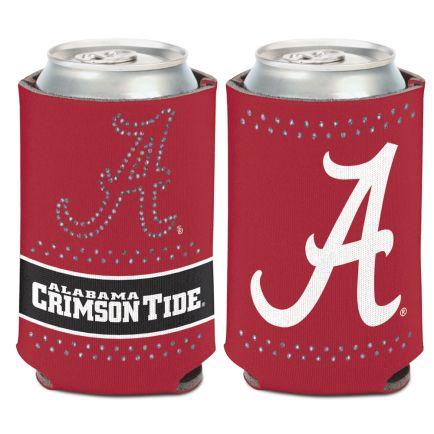 Alabama Crimson Tide Bling Can Cooler 12 oz.