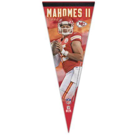 "Kansas City Chiefs Premium Pennant 12"" x 30"" Patrick Mahomes II"