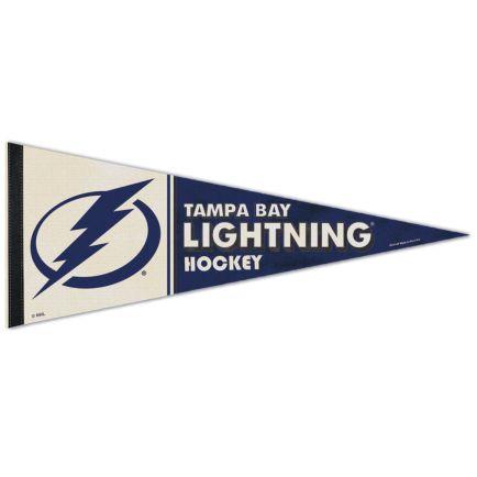 "Tampa Bay Lightning / Vintage NHL VINTAGE Premium Pennant 12"" x 30"""