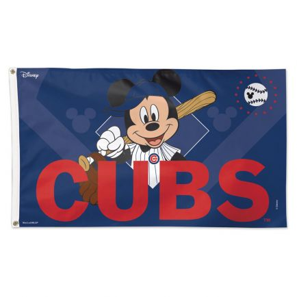Chicago Cubs / Disney Flag - Deluxe 3' X 5'