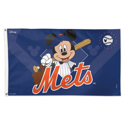 New York Mets / Disney Flag - Deluxe 3' X 5'