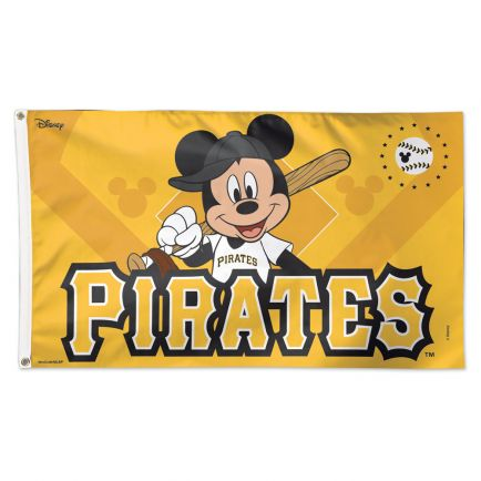 Pittsburgh Pirates / Disney Flag - Deluxe 3' X 5'