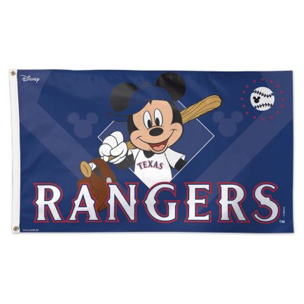 Texas Rangers / Disney Flag - Deluxe 3' X 5'