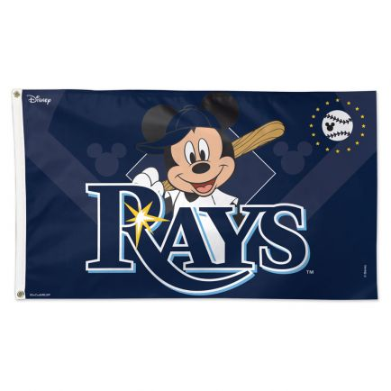 Tampa Bay Rays / Disney Flag - Deluxe 3' X 5'