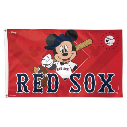 Boston Red Sox / Disney Flag - Deluxe 3' X 5'