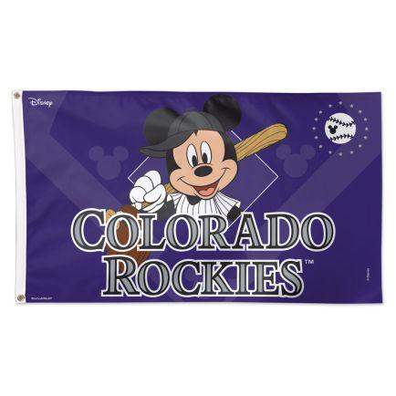 Colorado Rockies / Disney Flag - Deluxe 3' X 5'