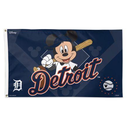 Detroit Tigers / Disney Flag - Deluxe 3' X 5'