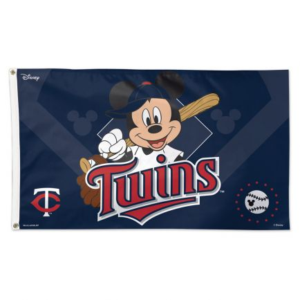 Minnesota Twins / Disney Flag - Deluxe 3' X 5'