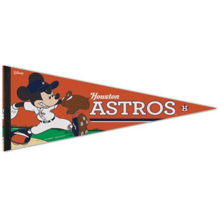 "Houston Astros / Disney Premium Pennant 12"" x 30"""