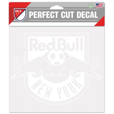 """New York Red Bulls Perfect Cut Decals 8"""" x 8"""""""