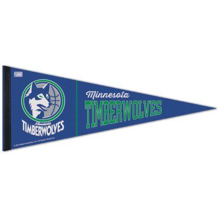 "Minnesota Timberwolves / Hardwoods HARDWOOD CLASSIC Premium Pennant 12"" x 30"""