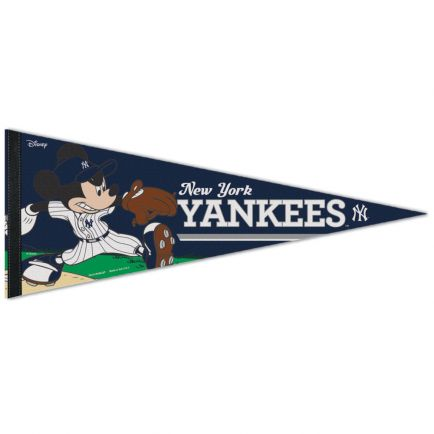 "New York Yankees / Disney Premium Pennant 12"" x 30"""