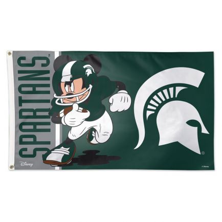 Michigan State Spartans / Disney Flag - Deluxe 3' X 5'
