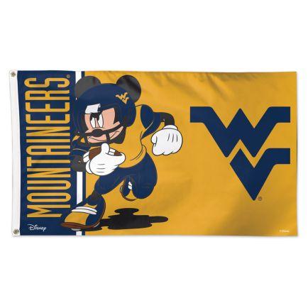 West Virginia Mountaineers / Disney MICKEY Flag - Deluxe 3' X 5'