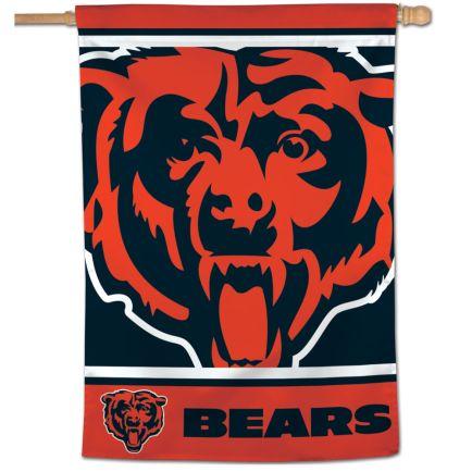 """Chicago Bears MEGA LOGO Vertical Flag 28"""" x 40"""""""