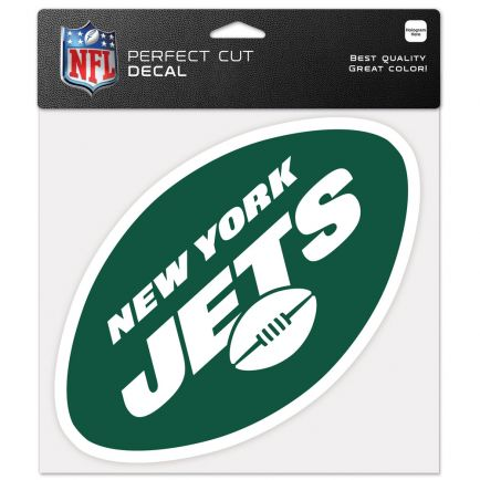 """New York Jets Perfect Cut Color Decal 8"""" x 8"""""""