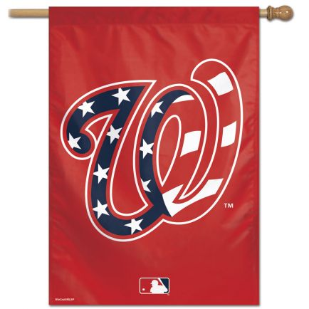 "Washington Nationals Vertical Flag 28"" x 40"""