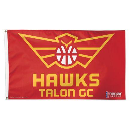 Atlanta Hawks Talons Atlanta Hawks Flag - Deluxe 3' X 5'