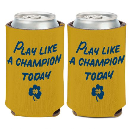 Notre Dame Fighting Irish Play Like a Champion Can Cooler 12 oz.