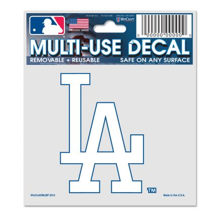 """Los Angeles Dodgers Multi-Use Decal 3"""" x 4"""""""