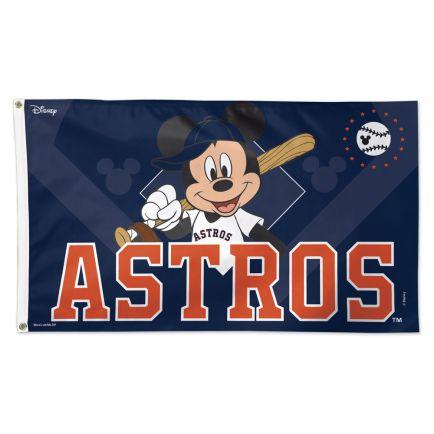 Houston Astros / Disney Flag - Deluxe 3' X 5'